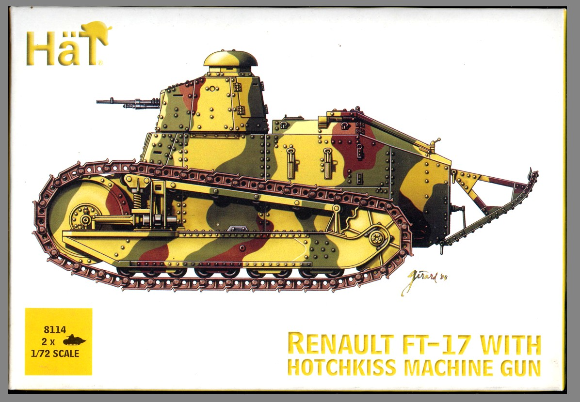 8114 French Renault FT-17