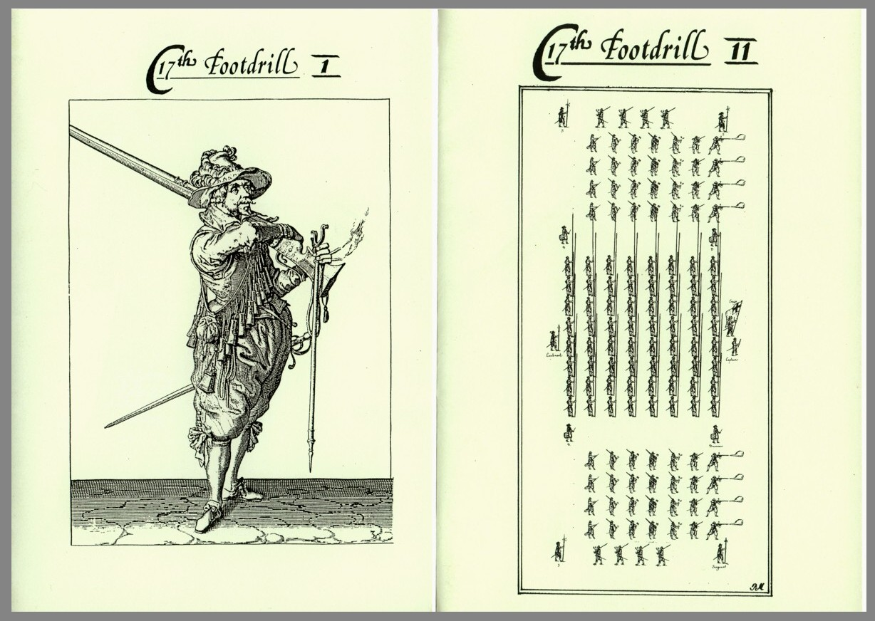 Stuart Press: 17th Century Foot Drill Vols I & II